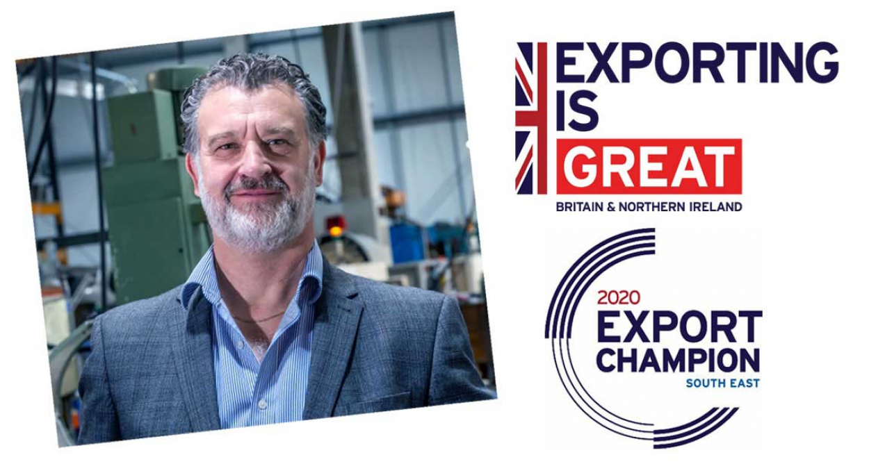 Gary Stevens accepts DIT Export Champion role
